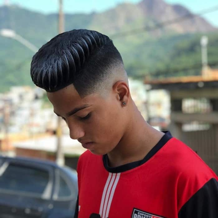 Flat Top with Low Skin Fade