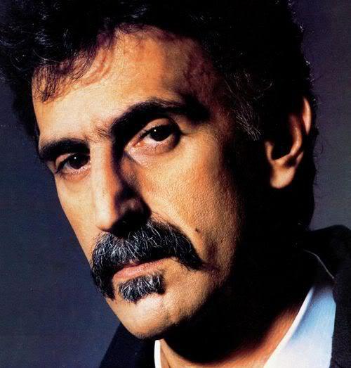 Image of Frank Zappa mustache.