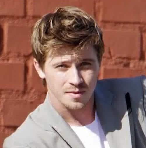 Photo of Garrett Hedlund hairstyle.