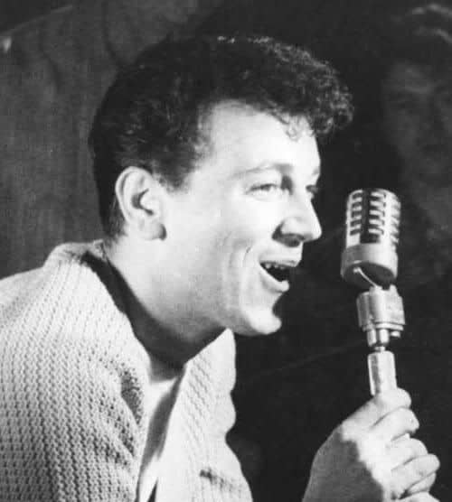 Picture of Gene Vincent hairstyle.