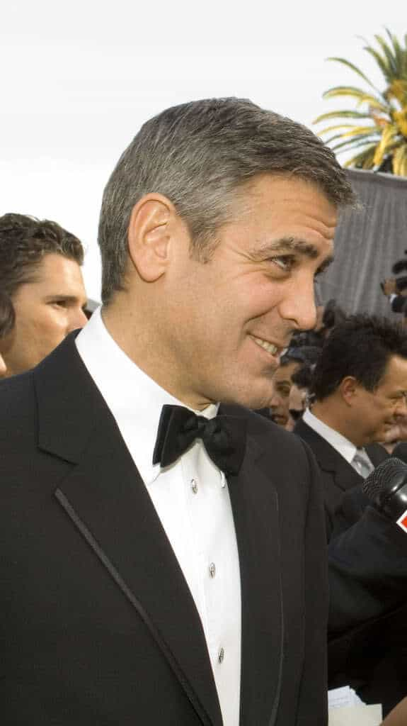 George Clooney Hairstyles Cool Mens Hair