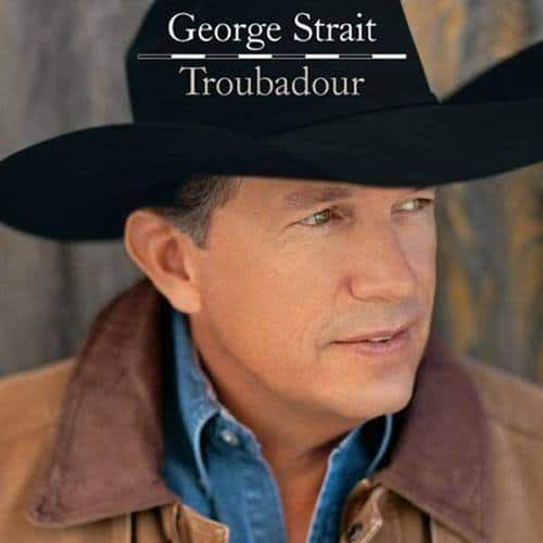 Image of George Strait with hat.