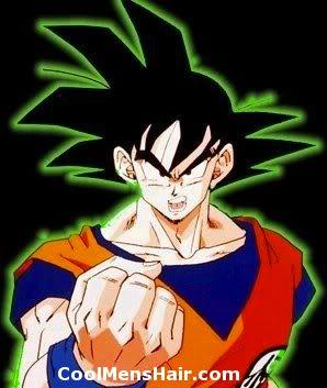 Goku anime hairstyle
