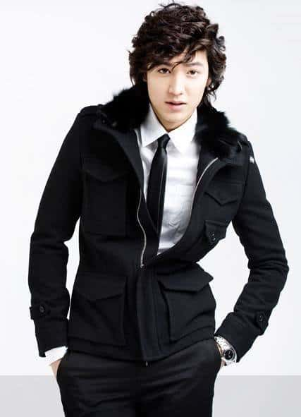 Gu Jun Pyo curly hairstyles