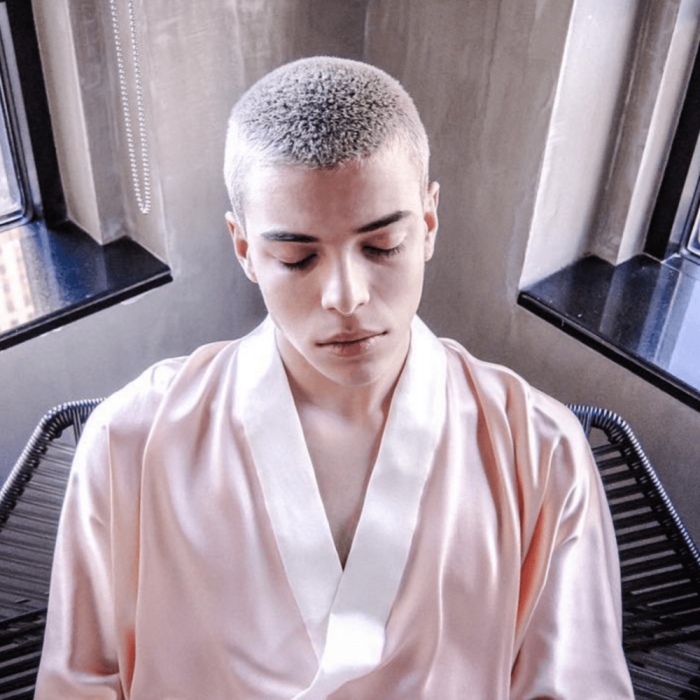 coloring Buzz Cuts hairstyle for boy