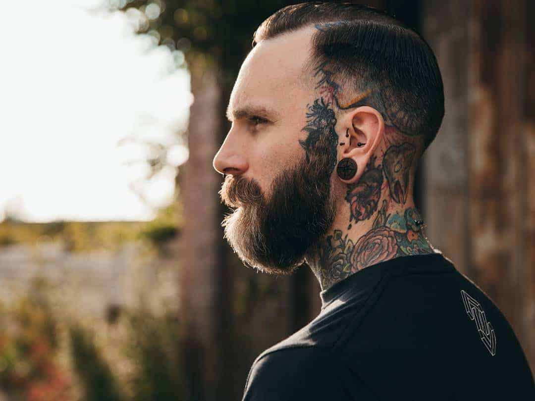 Big Ears with men hairstyle