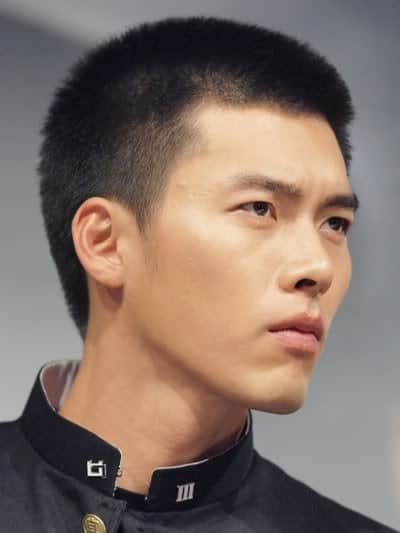 Hyun Bin short haircut