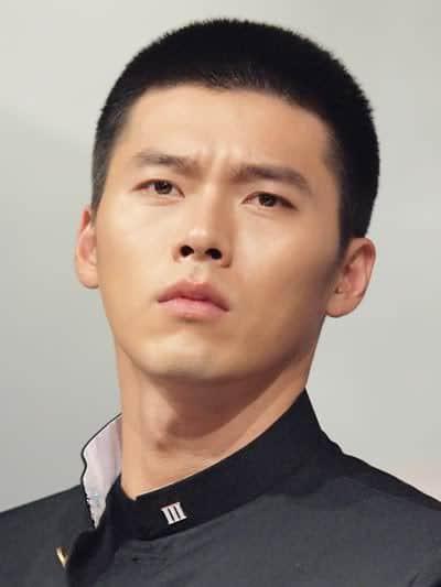 Hyun Bin short hairstyle