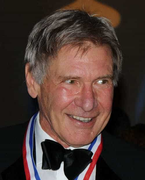 Photo of Harrison Ford hairstyle.