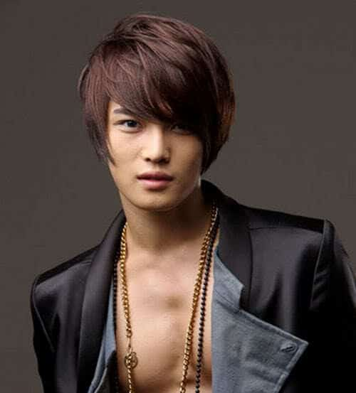 Photo of Hero Jaejoong hairstyle.