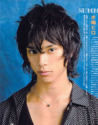 Hiro Mizushima Asian bed head hairstyles.