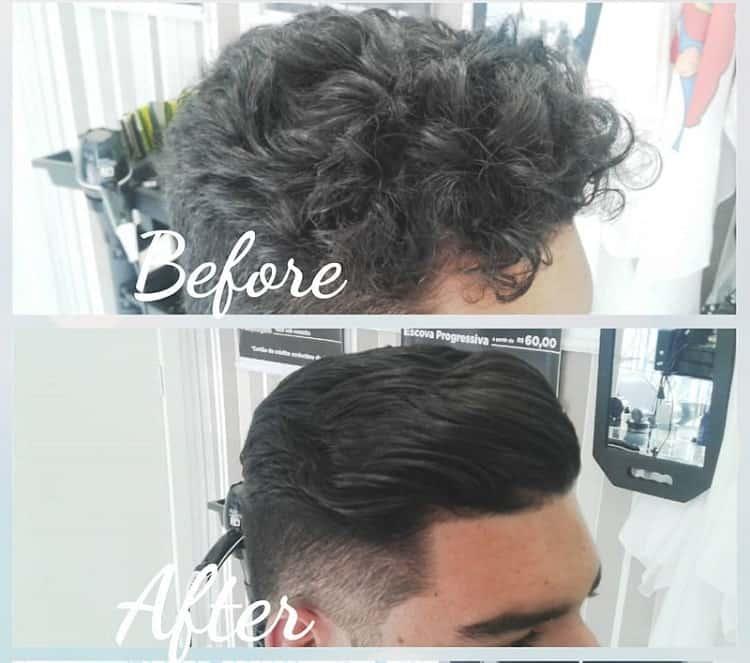 How to Straighten Wavy Hair for Men