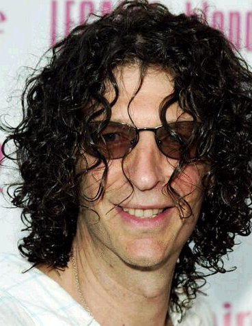 Howard Stern Long Curly Hair