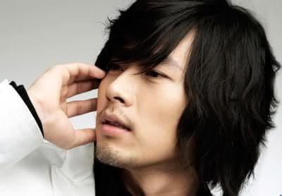 Hyun Bin hairstyle