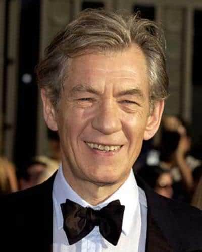Image of Ian McKellen hairstyle.