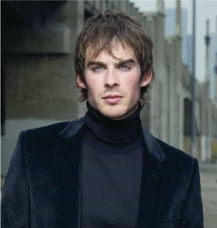 Ian Somerhalder hairstyles.