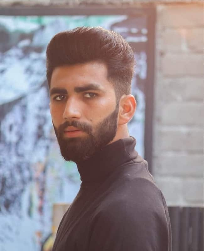 indian hairstyle for oval face men