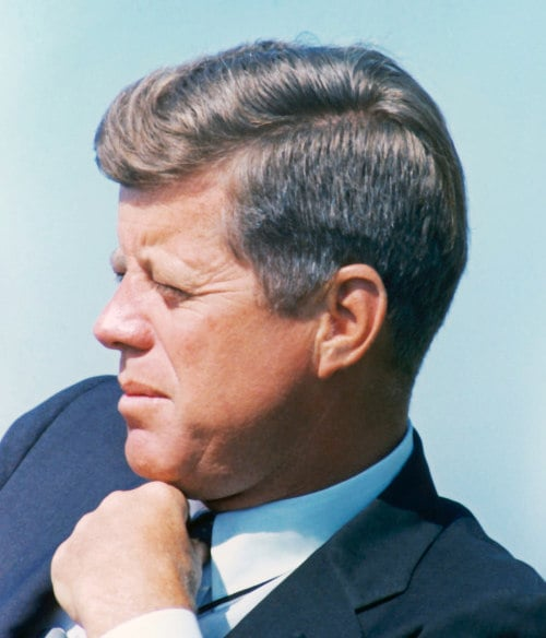 John F Kennedy S Hairstyle Get The Best Iconic Locks