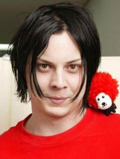 Jack White medium hairstyle