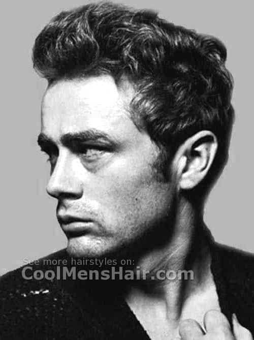 James Dean Iconic Mens Hairstyle.