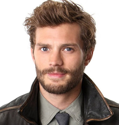 Jamie Dornan's Bed-head Hairstyle