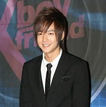 Jang Geun Suk straight bangs hairstyle