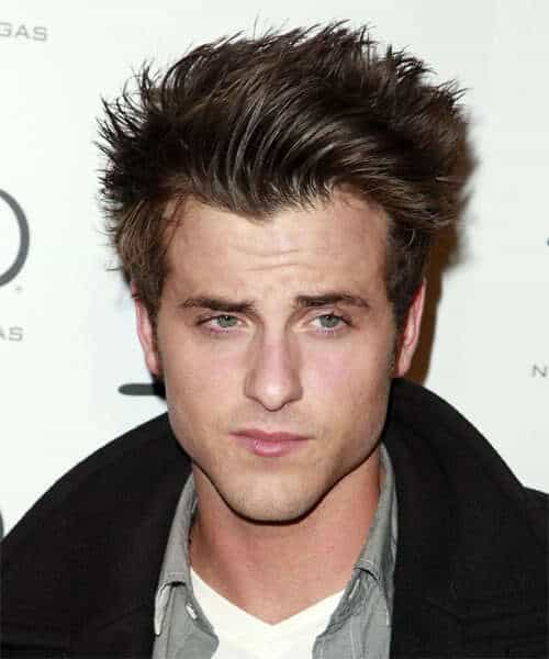 Picture of Jared Followill spiky hairstyle.