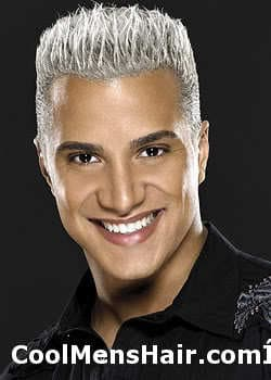 Image of Jay Manuel hairstyle.