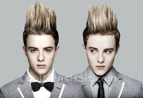 Photo of Jedward hairstyles.