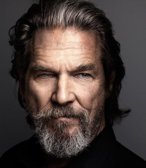 Photo of Jeff Bridges hairstyle.