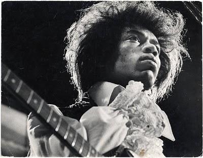 Jimi Hendrix Hair