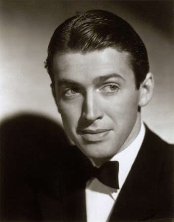 Jimmy Stewart Classic Wet Look Haircut.