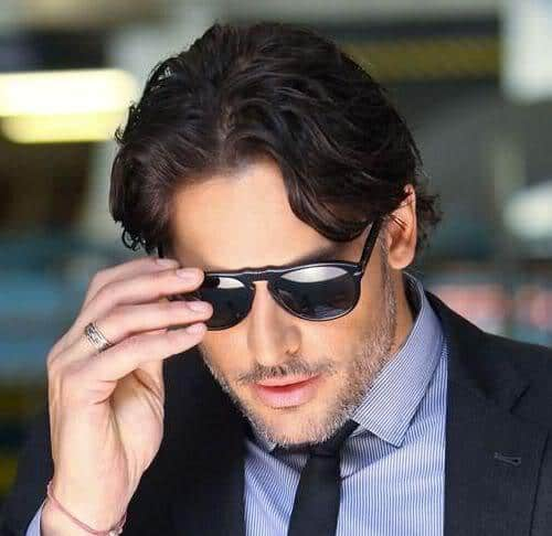 Photo of Joe Manganiello hairstyle.