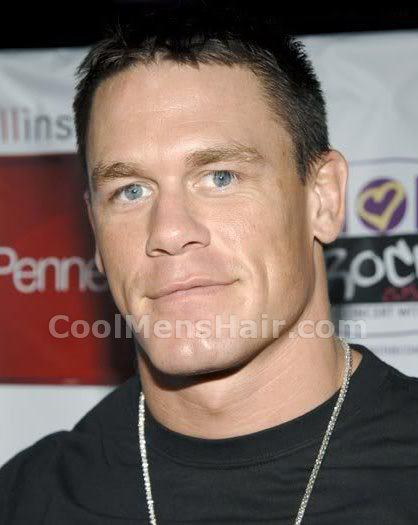 Picture of John Cena haircut for men.