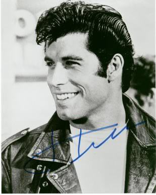 John Travolta's Pompadour hair