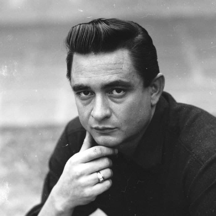 Johnny Cash haircut