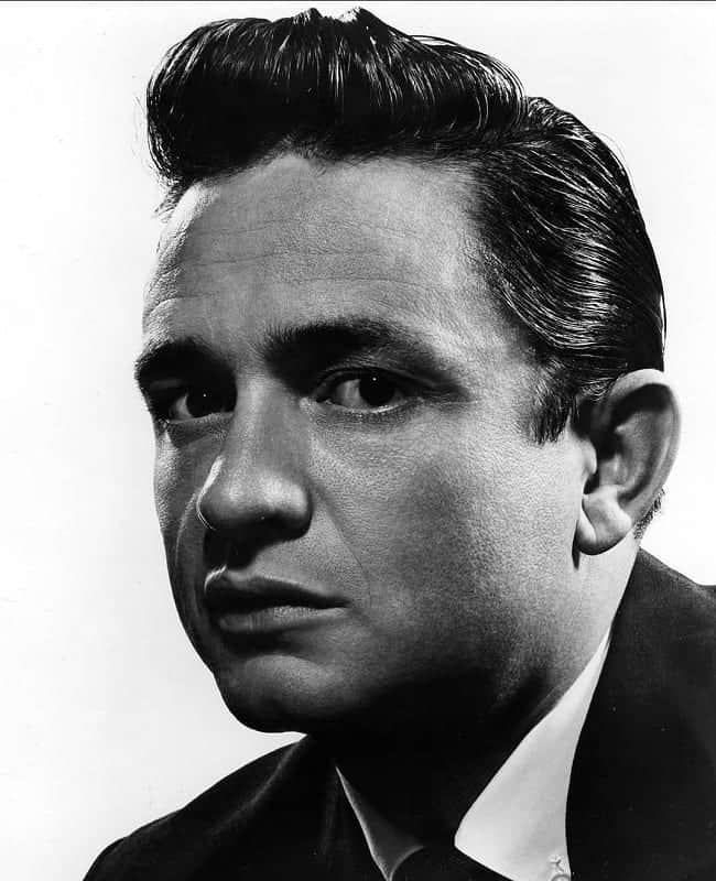 hairstyle by Johnny Cash