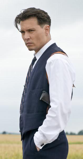 Johnny Depp 'John Dilinger' Style