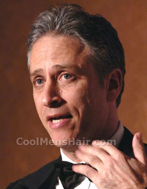 Picture of Jon Stewart hairstyle.