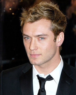 Jude Law hair