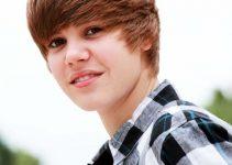 Justin Bieber Bangs Hairstyle