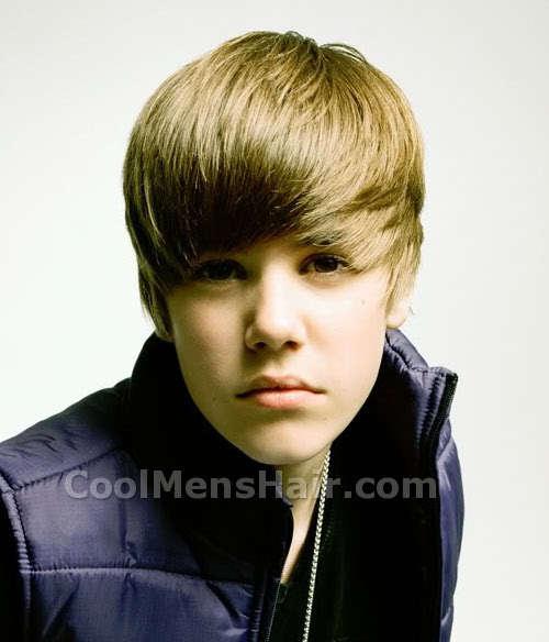 Justin Bieber hairstyle.