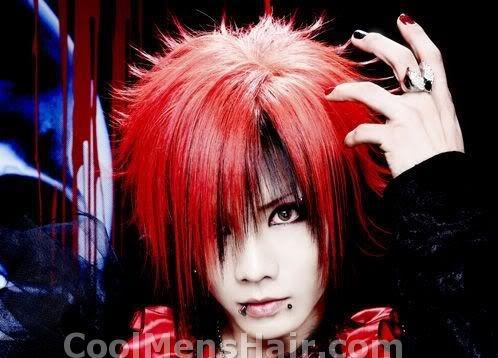 Picture of Kazuki hairstyle.