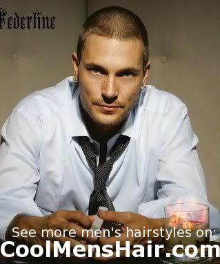 Image of Kevin Federline buzz haircut.