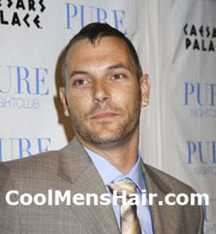 Picture of Kevin Federline side and back buzz cut.