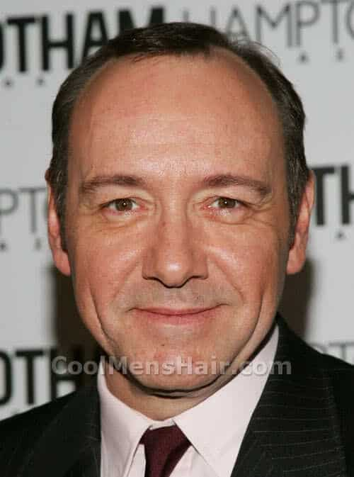 Photo of Kevin Spacey hairstyle.
