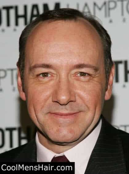 Photo of men hairstyle: Kevin Spacey short hairstyle.