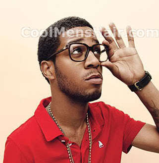 Kid Cudi neo-fro hairstyle photo.