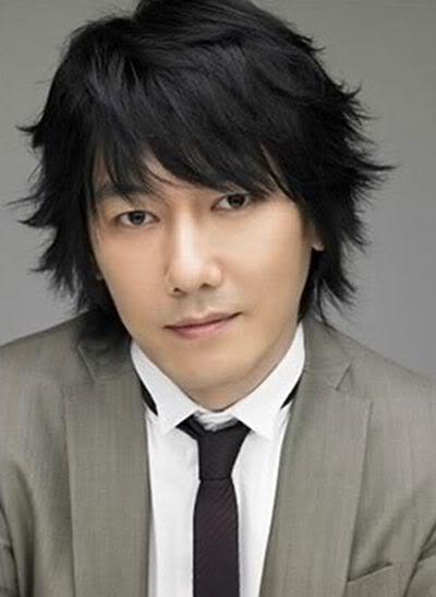 Photo of Kim Jang-hoon hairstyle.