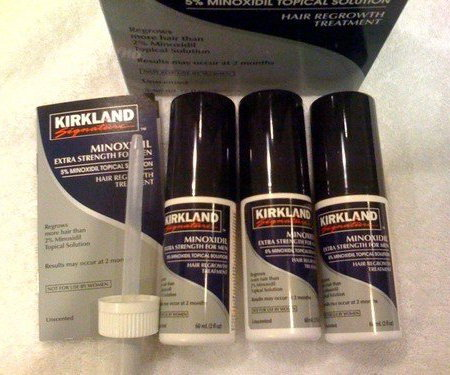 Kirkland Signature Minoxidil-5% Extra Strength Hair Regrowth for Men